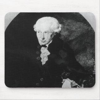 Portrait of Emmanuel Kant Mouse Pad