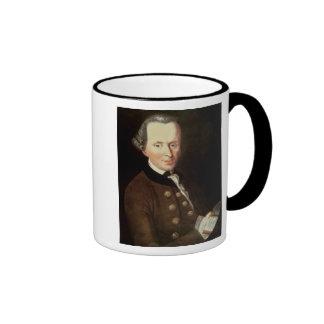 Portrait of Emmanuel Kant Ringer Coffee Mug
