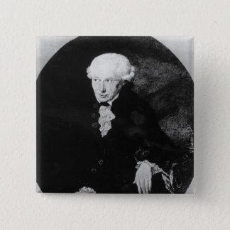 Portrait of Emmanuel Kant Pinback Button