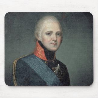 Portrait of Emperor Alexander I , 1804 Mouse Pad