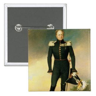 Portrait of Emperor Alexander I  1825 Button