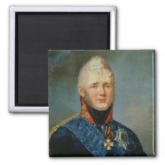 Portrait of Emperor Alexander I Fridge Magnets