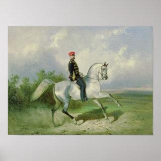 Portrait of Emperor Alexander II  1876 Poster