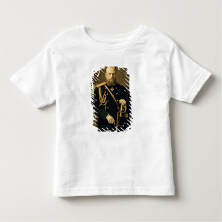 Portrait of Emperor Alexander III  1886 Toddler T-shirt