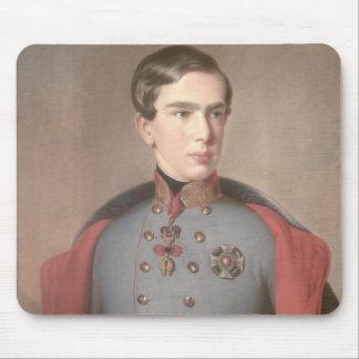 Portrait of Emperor Franz Joseph of Austria Mouse Pad