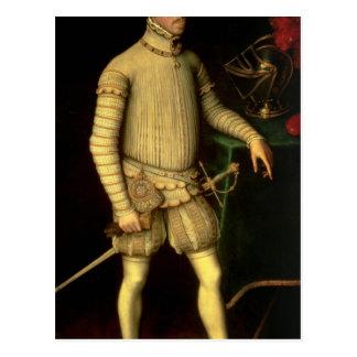 Portrait of Emperor Maximilian II  1557 Postcard
