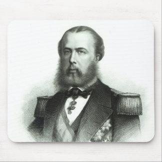 Portrait of Emperor Maximilian of Mexico, 1864 Mouse Pad