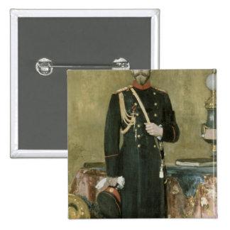 Portrait of Emperor Nicholas II  1895 Button