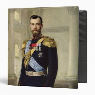 Portrait of Emperor Nicholas II, 1900 Binder