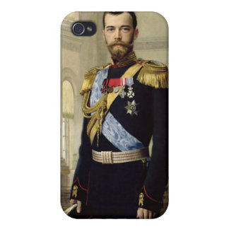 Portrait of Emperor Nicholas II, 1900 iPhone 4 Cases