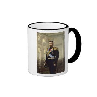 Portrait of Emperor Nicholas II, 1900 Mugs