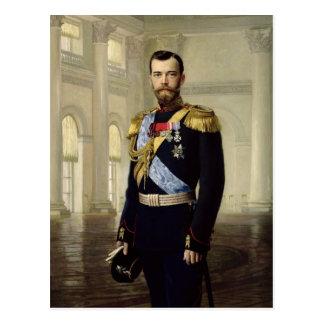Portrait of Emperor Nicholas II, 1900 Postcard