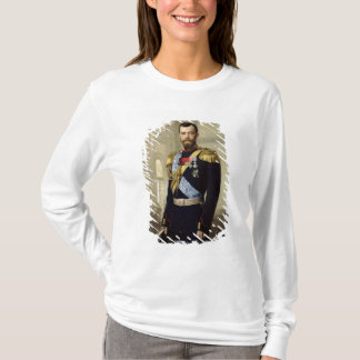 Portrait of Emperor Nicholas II, 1900 T-Shirt