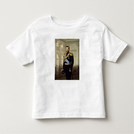 Portrait of Emperor Nicholas II, 1900 T Shirts