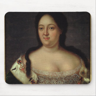 Portrait of Empress Anna Ioannovna Mouse Pad