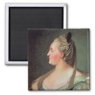 Portrait of Empress Catherine II the Great Magnet