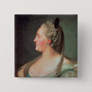 Portrait of Empress Catherine II the Great Pinback Button
