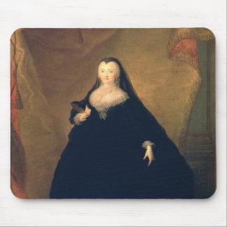 Portrait of Empress Elizabeth  in Fancy Dress Mouse Pad