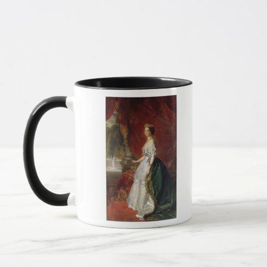 Portrait of Empress Eugenie of France Mug