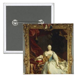 Portrait of Empress Maria Theresa Pinback Button