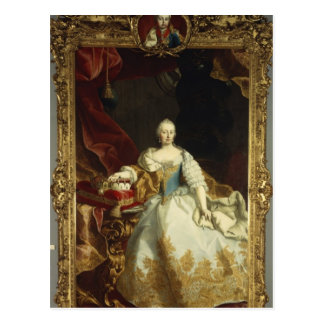 Portrait of Empress Maria Theresa Postcards