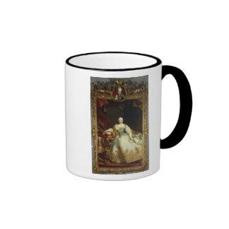 Portrait of Empress Maria Theresa Ringer Mug