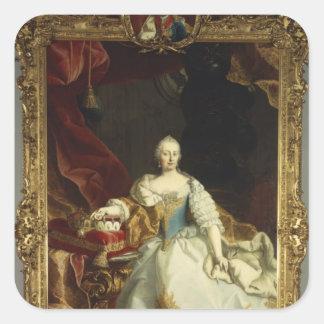 Portrait of Empress Maria Theresa Sticker