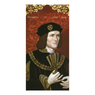 Portrait of English King Richard III Card