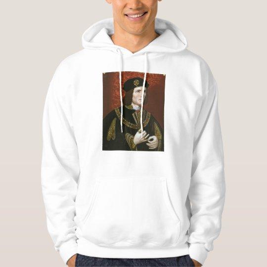 Portrait of English King Richard III Hoodie