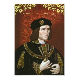 Portrait of English King Richard III Custom Announcements