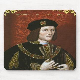 Portrait of English King Richard III Mousepad