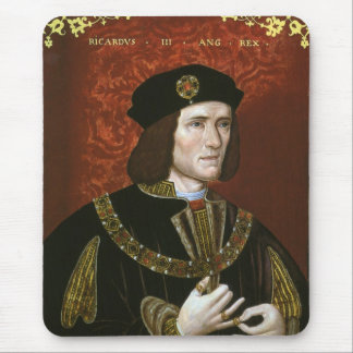 Portrait of English King Richard III Mouse Pad