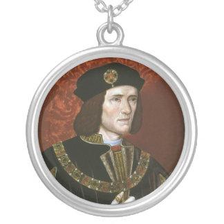 Portrait of English King Richard III Pendants
