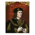 Portrait of English King Richard III Postcard
