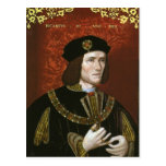Portrait of English King Richard III Postcards