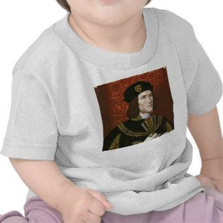 Portrait of English King Richard III T Shirts