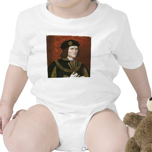 Portrait of English King Richard III Tshirts