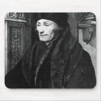 Portrait of Erasmus Mouse Pad