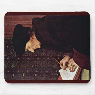 Portrait Of Erasmus Of Rotterdam Mouse Pad