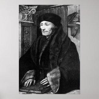 Portrait of Erasmus Poster