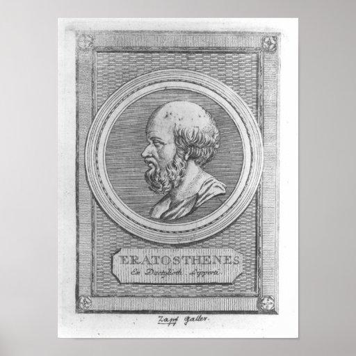Portrait of Eratosthenes Poster
