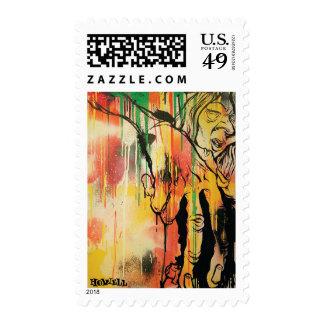 Portrait of Eric Ellington Stamps