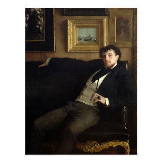 Portrait of Ernest Duez  1876 Postcard