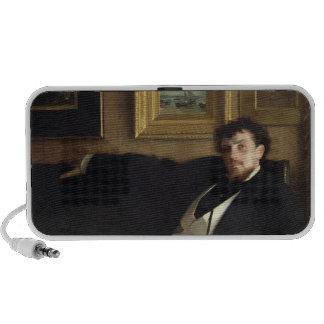 Portrait of Ernest Duez  1876 iPhone Speakers
