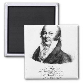Portrait of Etienne Geoffroy Saint-Hilaire Magnet