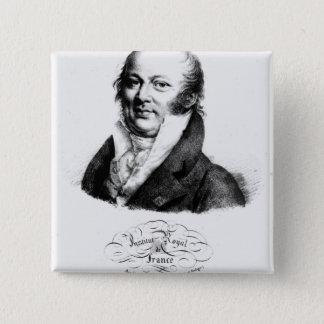 Portrait of Etienne Geoffroy Saint-Hilaire Pinback Button