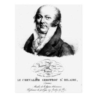 Portrait of Etienne Geoffroy Saint-Hilaire Postcard