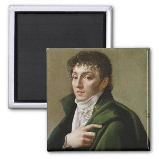 Portrait of Etienne-Henri Mehul  1799 Fridge Magnets