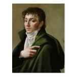 Portrait of Etienne-Henri Mehul  1799 Postcard