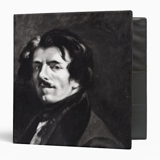 Portrait of Eugene Delacroix Vinyl Binders